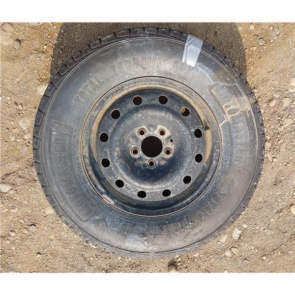 245/70/16 Motomaster Tire & Rim