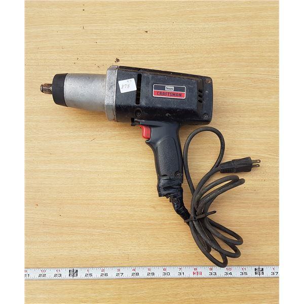"""Craftsman 1/2"""" Impact Gun Electric"""