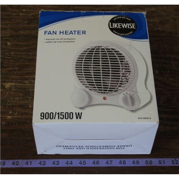 Likewise Heater/Fan