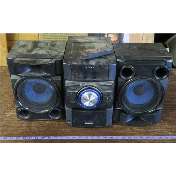 Shop Radio w/ Remote Control