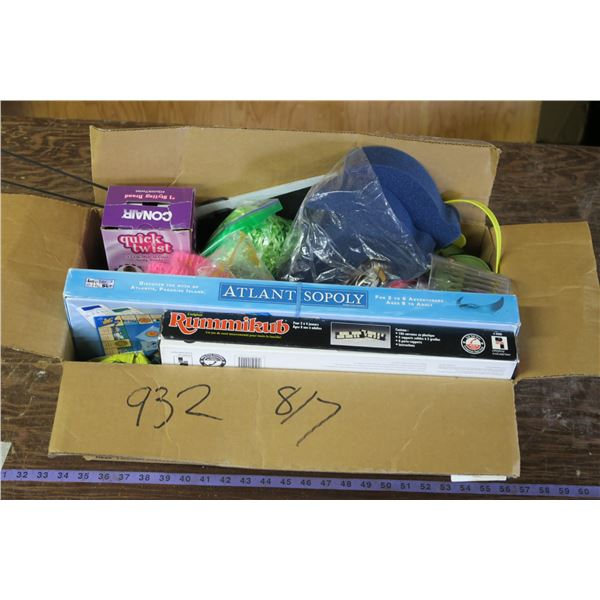 Box of Misc. Items