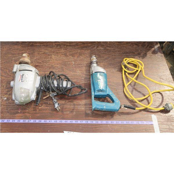 Makita 16mm Drill & 19mm Hammer Drill
