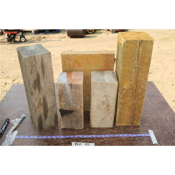 Lot of Wooden Blocks