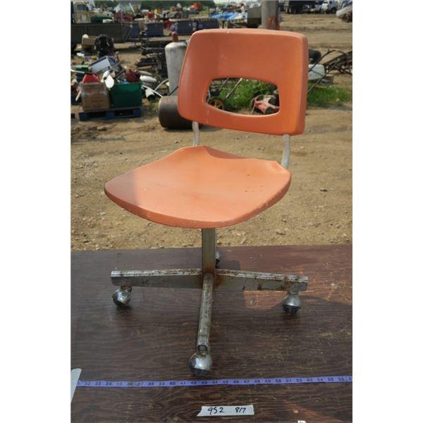 Wheeled Shop Chair