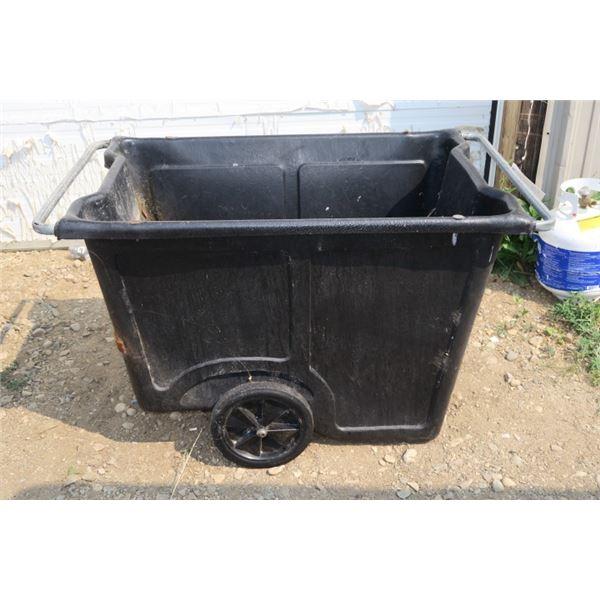 """Large Wheeled Garbage Bin 32""""×51""""×30"""""""
