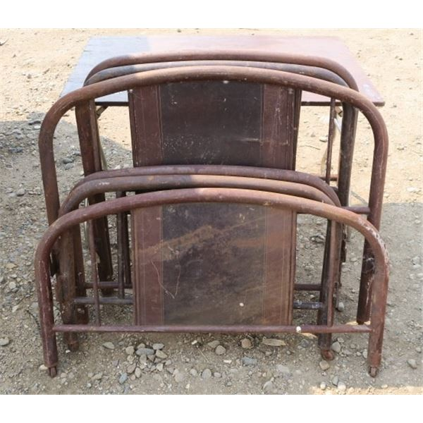 Lot of 6 Bed Frame Pieces