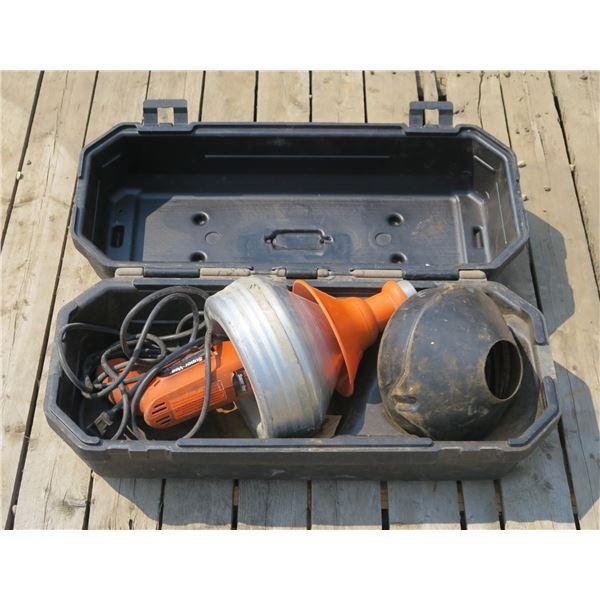 General Super Vee Sewer Machine (Clutch needs Repair)