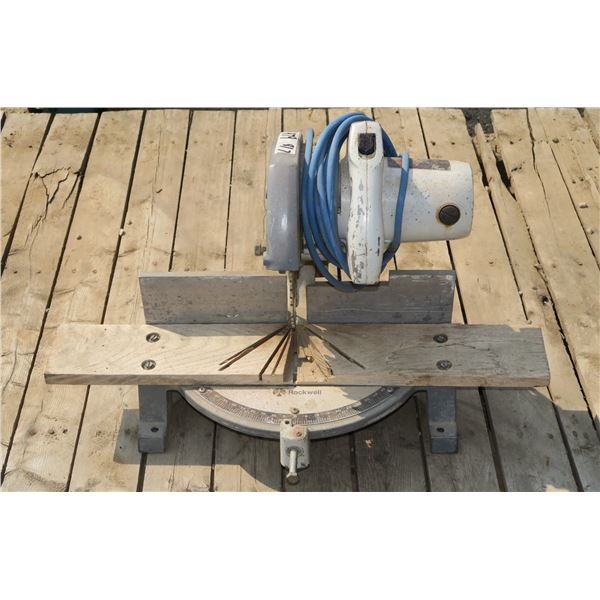 Chop Saw (Needs Maintenance)