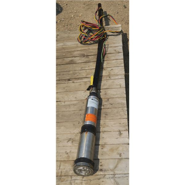 Red Jacket Grizzly Submersible Pump 220Volt ½HP 110 PSI@15GPM