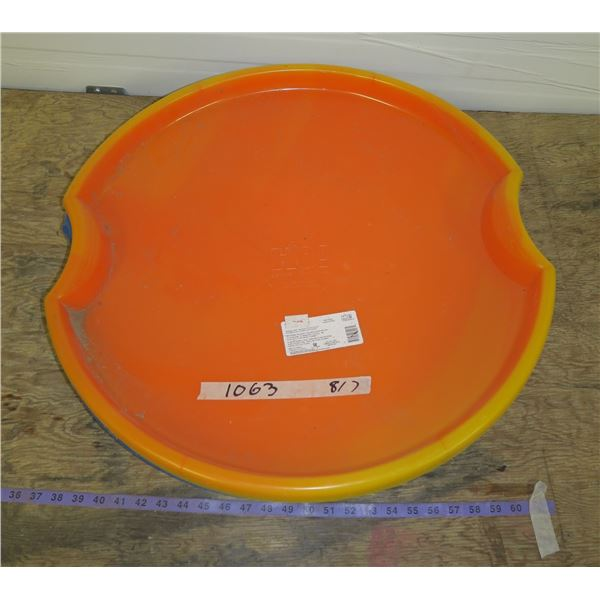 Lot of Saucer Sleds
