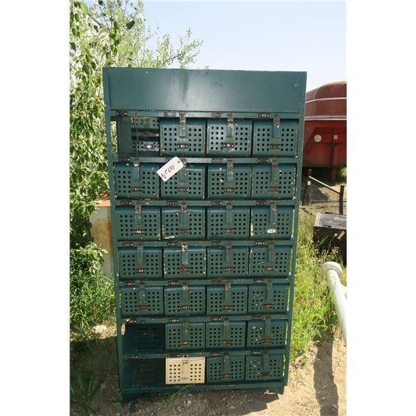 Lockers 77 X 14 X 40 Inch
