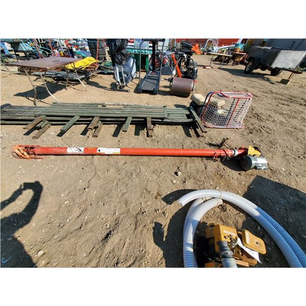 11 ft. - 4 inch Westfield auger w/ 1/2 HP electric motor