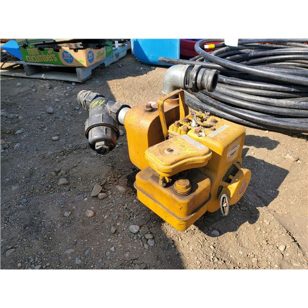 3 HP Briggs Stratton Monarch water pump 2 inch