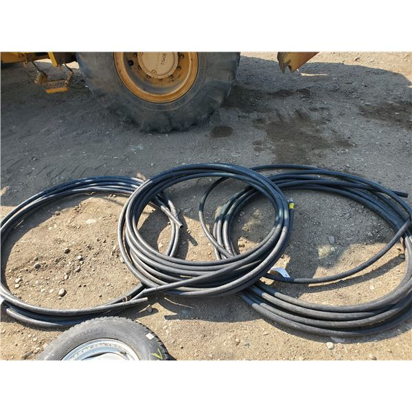 258 ft of 1 inch plastic hose
