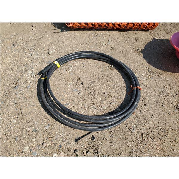 46 ft of 3/4 inch plastic hose