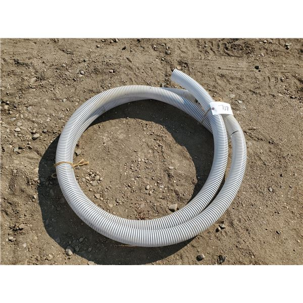 20 ft of 2.5 inch flexible air seeder hose