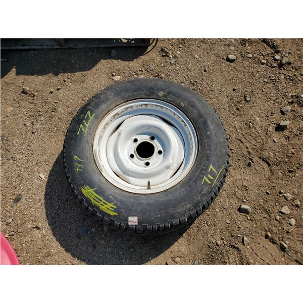 P205-75-R15 tire on a GM or Chev rim