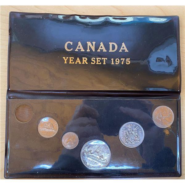 1975 6-coin Canada Year Set.