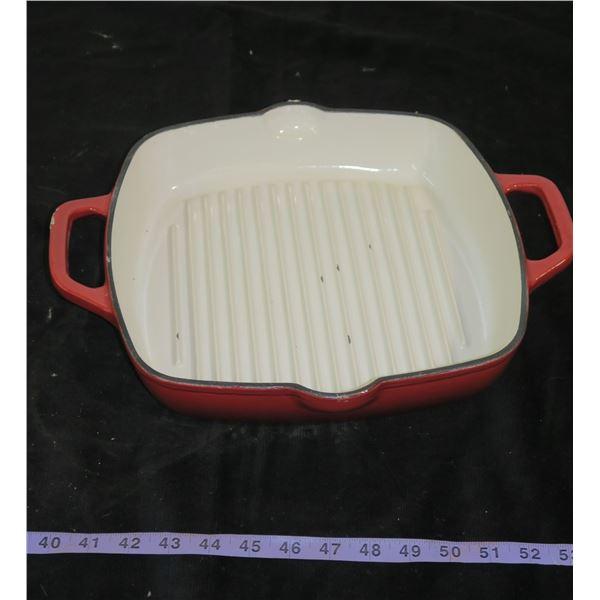 "Kitchen Aid Cast Iron Fry Pan 12""×12"""