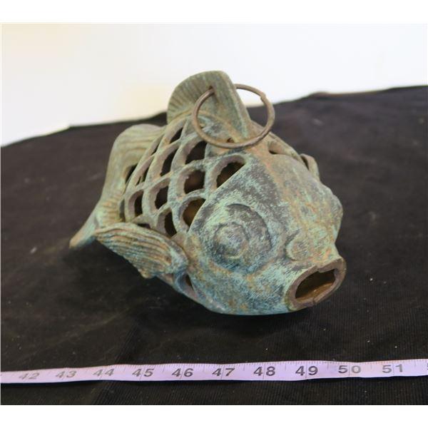 Cast Iron Fish Garden/Pond Ornament