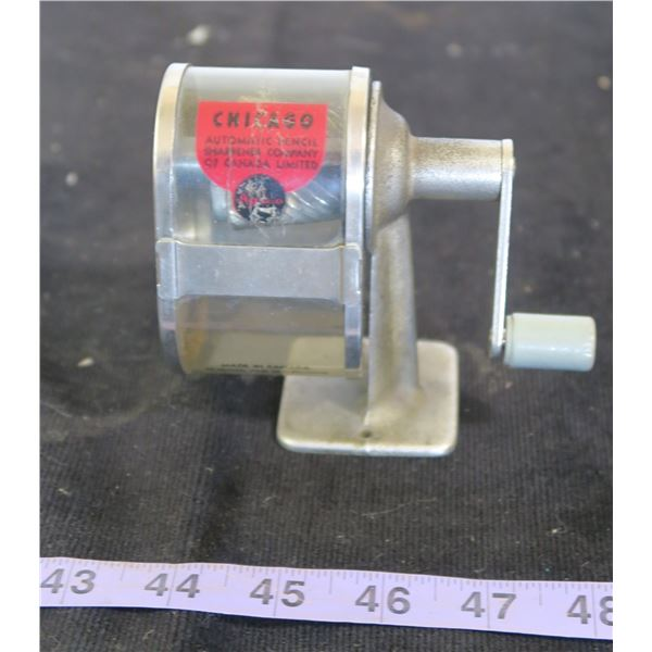 Vintage Hand Crank Pencil Sharpener