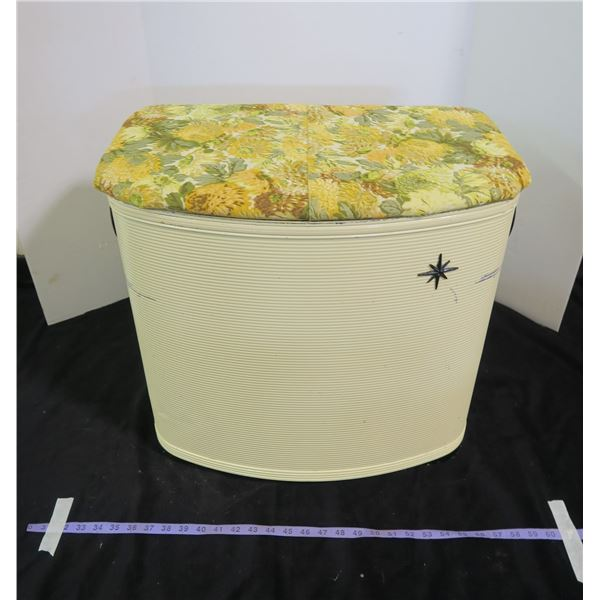 Vintage Early 70's Laundry Hamper