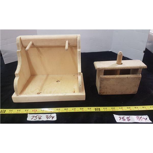 Butter Press & Shelf
