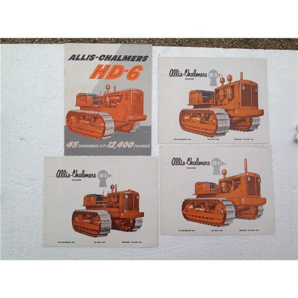 Original Allis-Chalmers Crawler Brochures