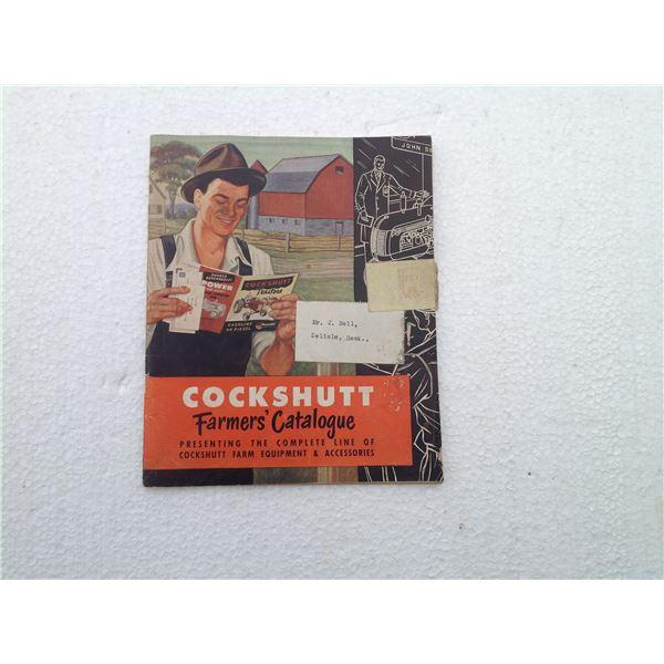 Cockshutt Farmer Catalogue  Colour 1952 56 Pages