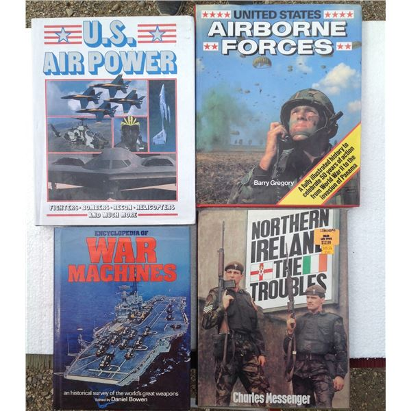 (4) Various Military Books