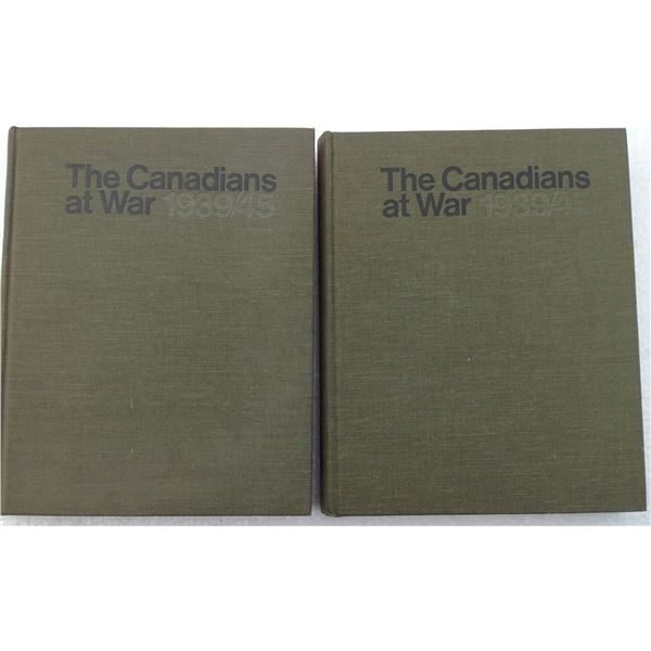 (2) The Canadians At Work 1939-1945 Two Volume Set