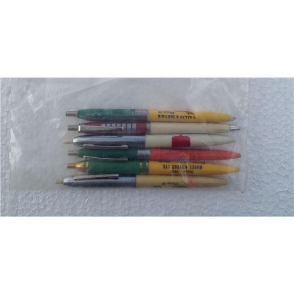 Cockshutt , Minneapolis Moline, Oliver Advertising Pens And Pencils