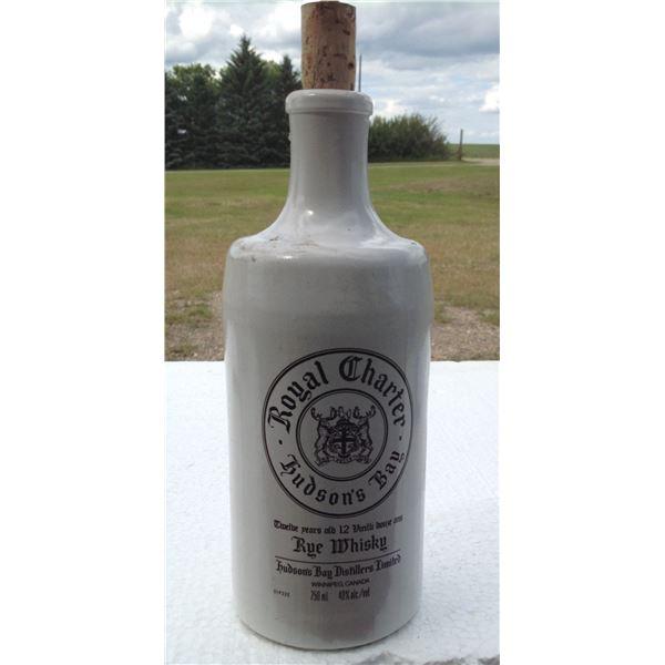 Hudson Bay Whiskey Bottle