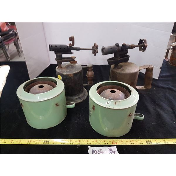 Heater Canisters & Torches