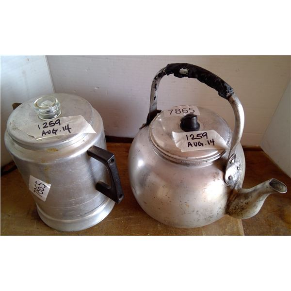 Coffee Pot & Kettle