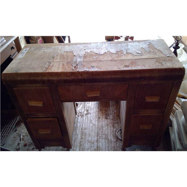 "Dresser Vanity - Damaged Veneer 39""L x 17""d x 29""h"