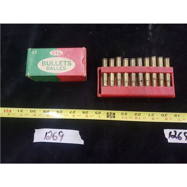 Reload Bullets & .308 British Ammo & Brass - NO SHIPPING