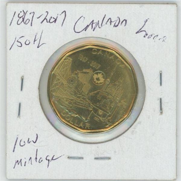 1867 - 2017 Cdn. Loonie