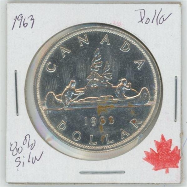 1963 Cdn. Silver Dollar