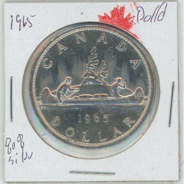 1965 Cdn. Silver Dollar