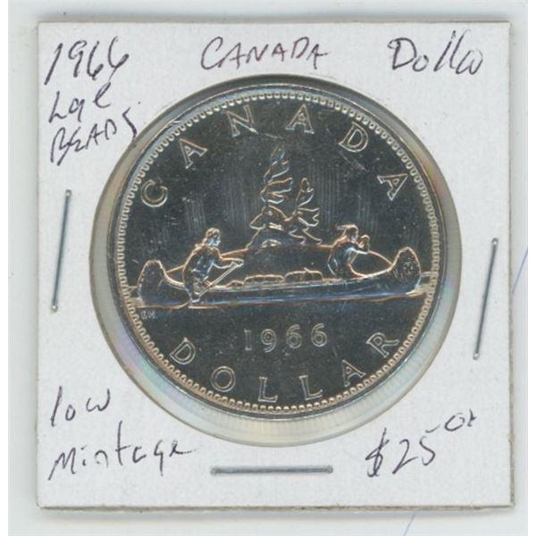 1966 Cdn. Silver Dollar