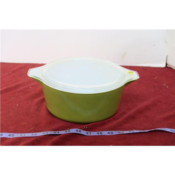 Vintage Covered Pyrex Bowl