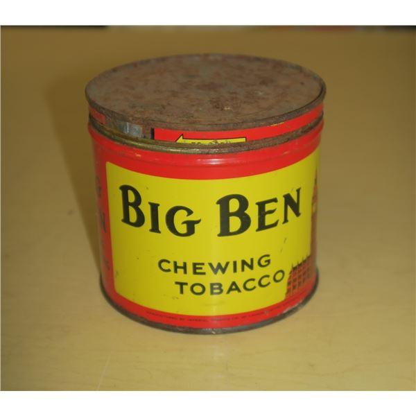 Vintage Big Ben Tobacco Tin
