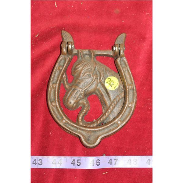 Cast Iron Horse Door Knocker