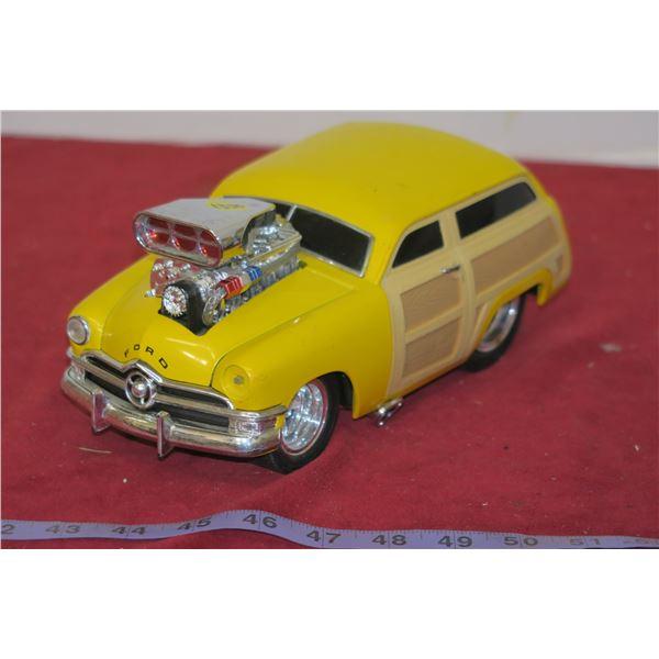 Custom Ford Woody Wagon Die Cast
