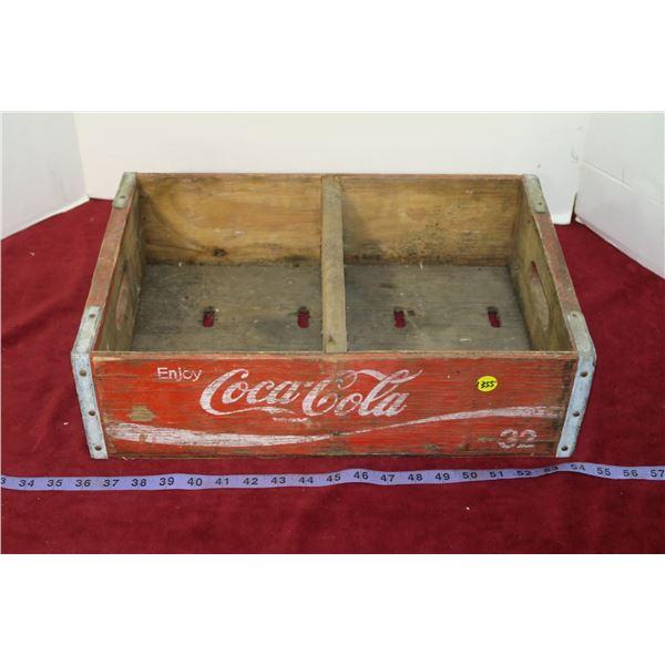 Vintage Coca Cola Soda Crate