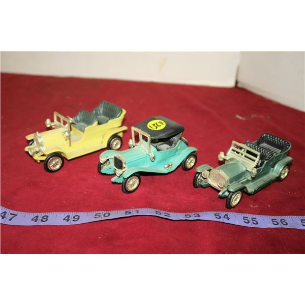 3 Antique Cars Made In Hong Kong