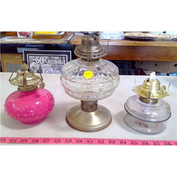 3 Lamp Bases