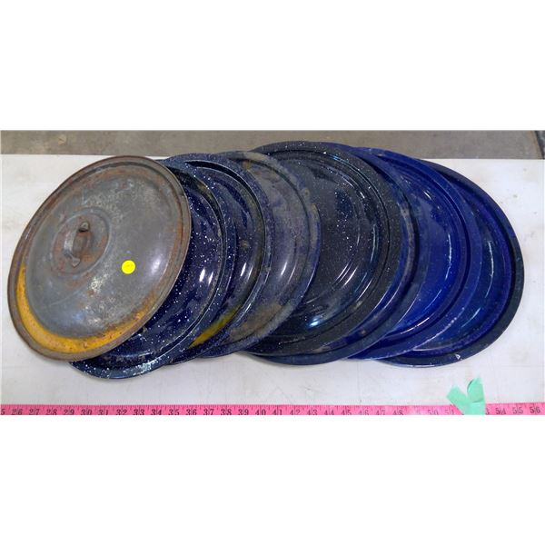 8 Assorted Canner Lids