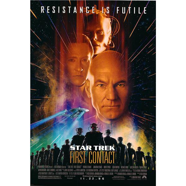 Star Trek: First Contact original 1996 vintage one sheet movie poster